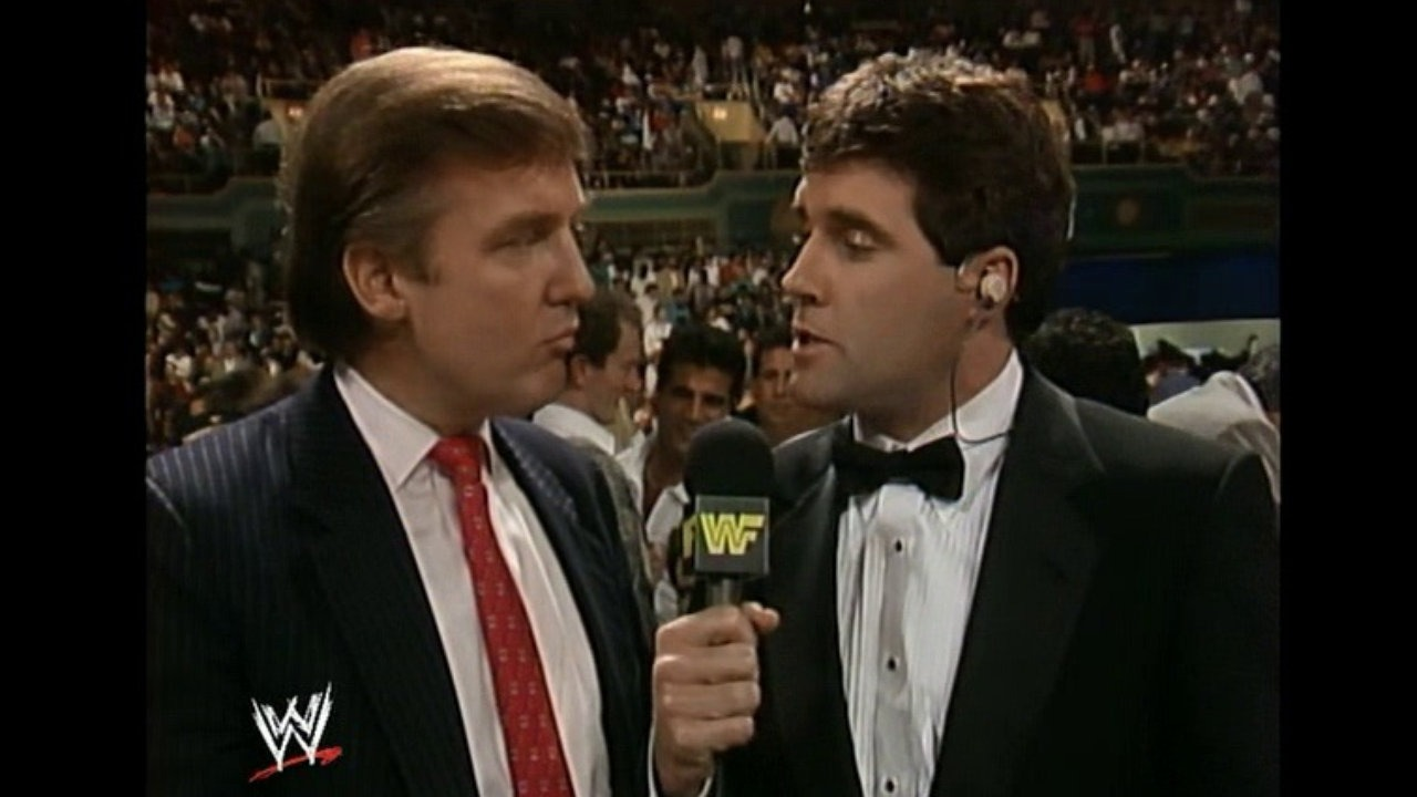 WWE Hall of Famer Donald Trump….U.S. President-elect! – Wrestling ...