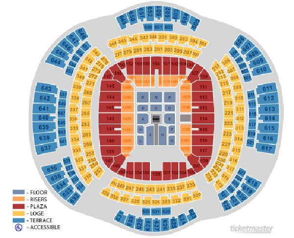 Wrestlemania Xxx Seating Chart Released Wrestling Online Com