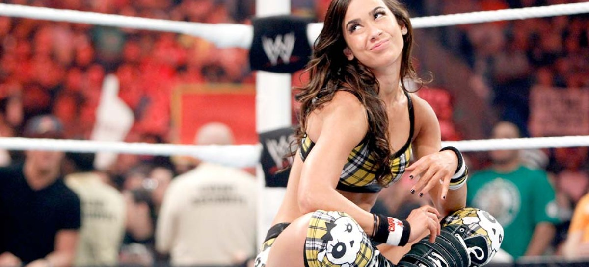 AJ Lee is back…and she takes the Divas title