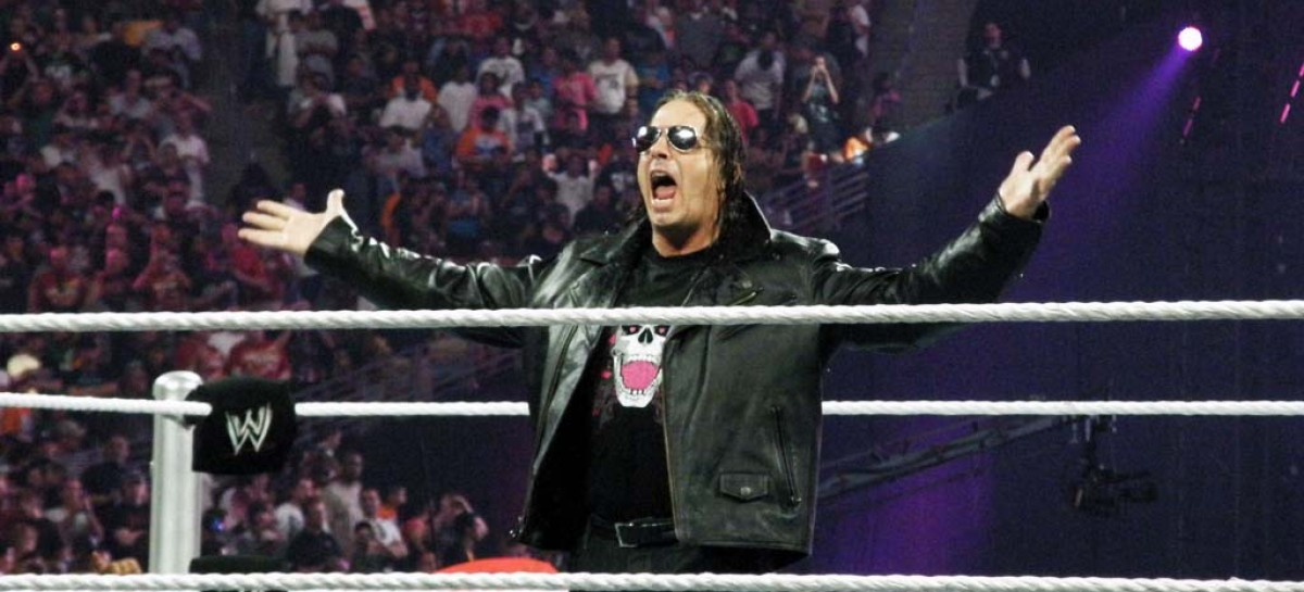 Artwork and match listing for new Bret Hart WWE DVD