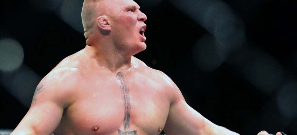 Brock Lesnar rumored to be attending UFC 168 tomorrow