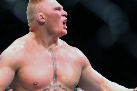 Alistair Overeem calls out Brock Lesnar in the Octagon