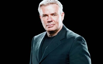 Eric Bischoff congratulates Sting on WWE debut
