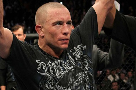 Georges St. Pierre medically cleared to make his return