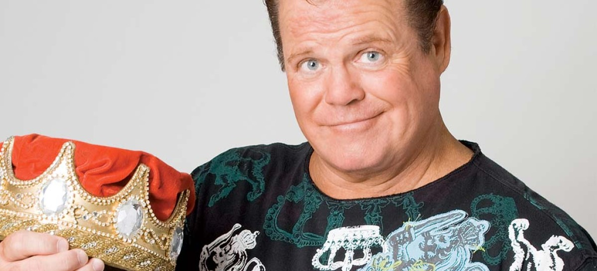 "Jerry ""The King"" Lawler holds press conference in Memphis"