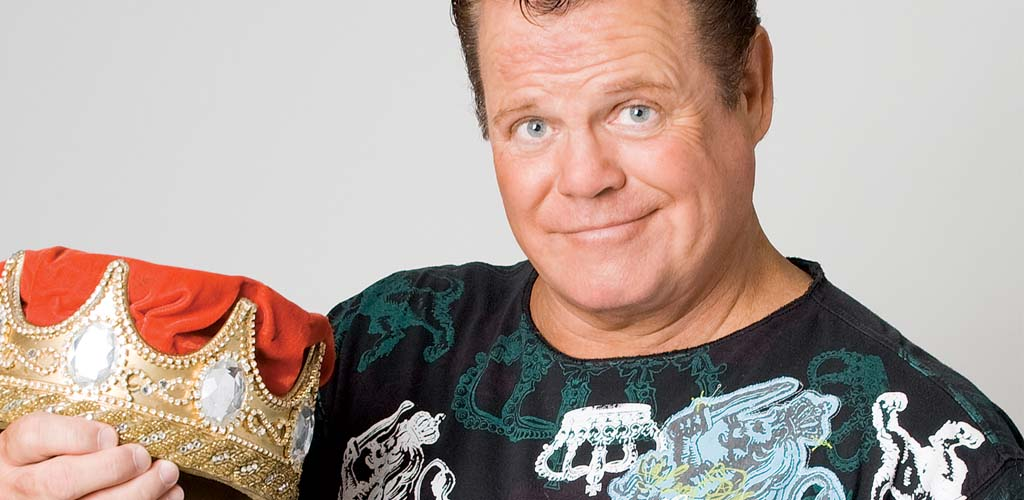Jerry Lawler sends a Tout video from hospital