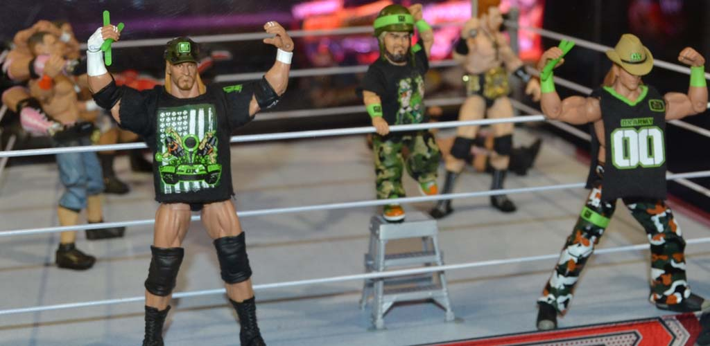 WWE's Mattel action figures take #1 spot in sales in the U.S. for 2017