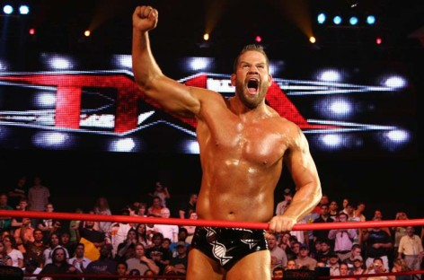 Matt Morgan writes message of encouragement for Kurt Angle