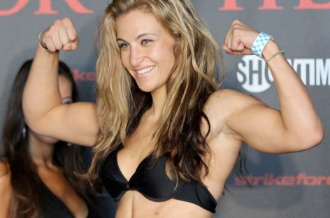 Miesha Tate tweets she is now part of the UFC