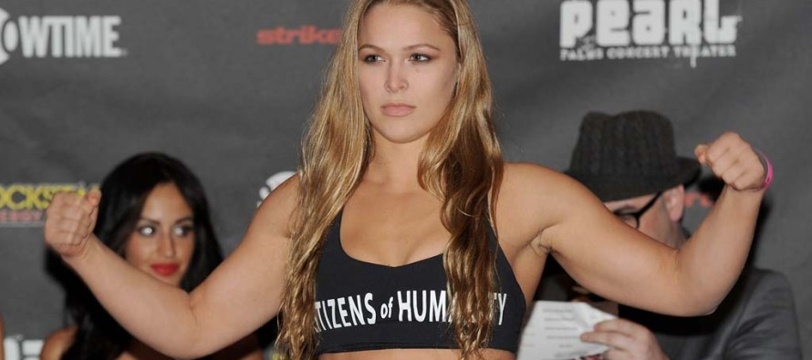 Rousey calls out Cyborg immediatley after fight