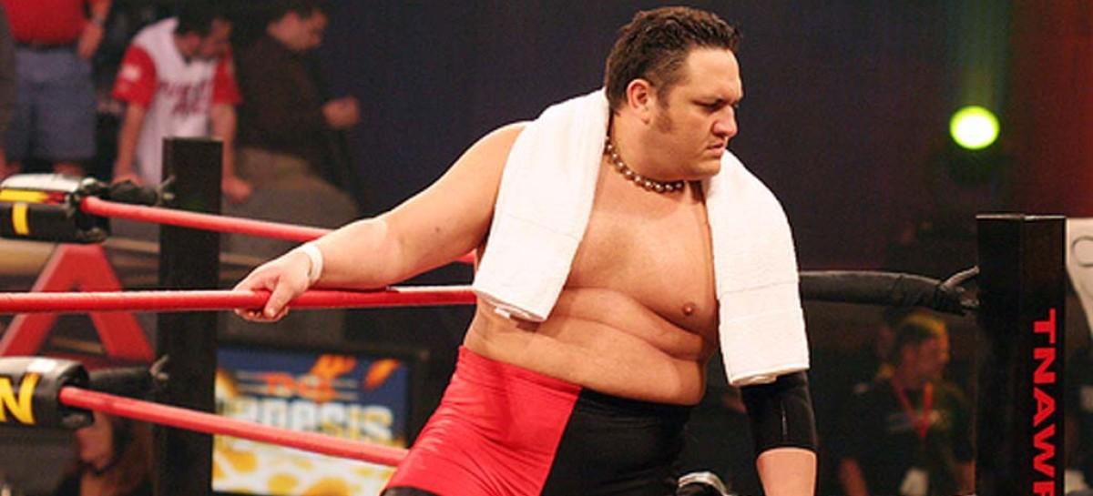 Samoa Joe wins the vacated TNA TV title