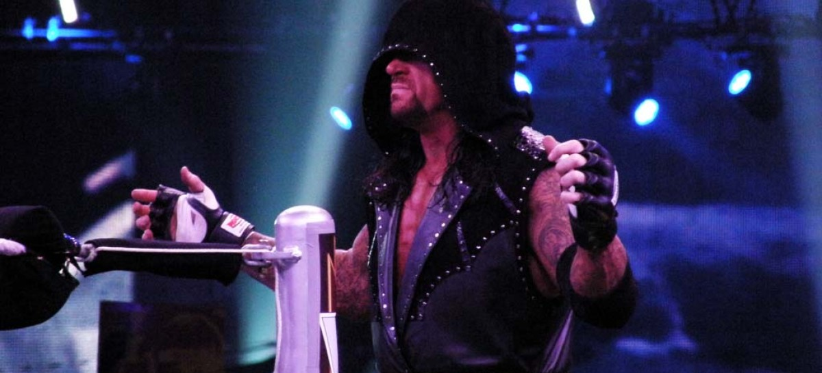 The Undertaker returns at a non-televised event in Waco, Texas