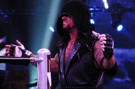 The Undertaker says it's too hard to walk away from WrestleMania