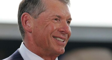 Vince McMahon takes the ALS Ice Bucket Challenge in full suit