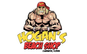 Hulk Hogan officially opening Hogan's Beach Shop today in Clearwater