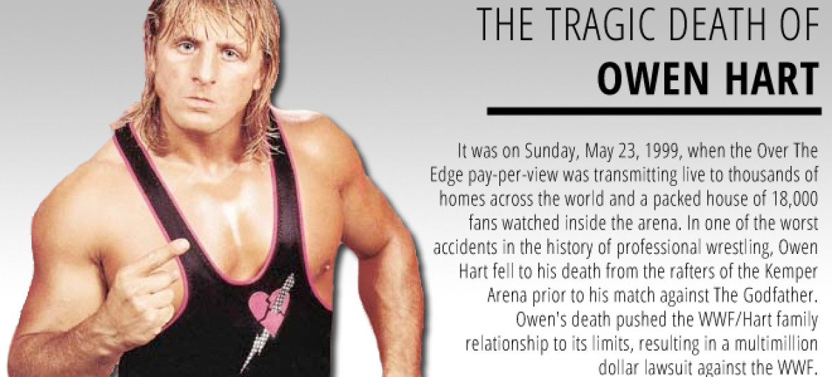 The Tragic Death Of Owen Hart