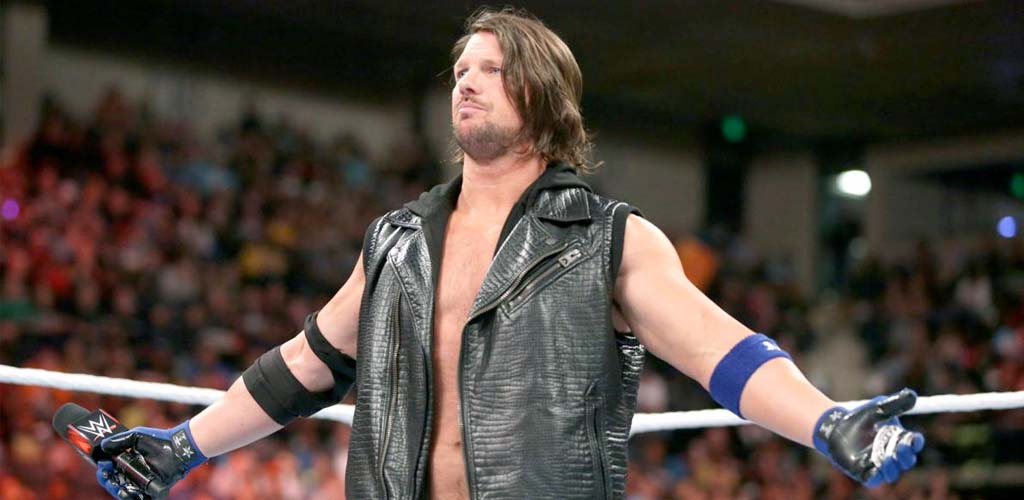 AJ Styles wins the United States title at house show in Madison Square Garden