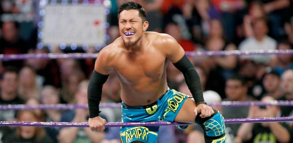 Akira Tozawa wins the Cruiserweight title on Raw