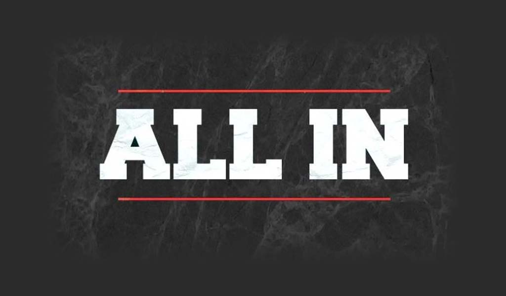 History made tonight as All In airs live on pay-per-view