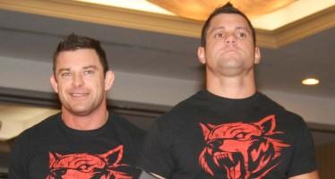 Eddie Edwards suffers broken heel at TNA tapings