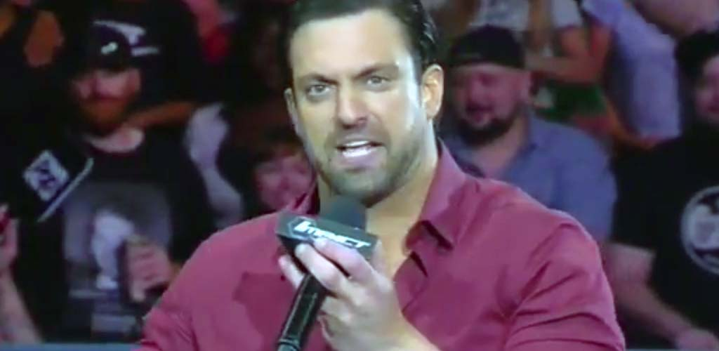 Damien Sandow debuts in TNA as Aron Rex