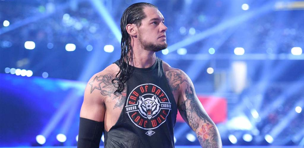 Baron Corbin cashes in MITB briefcase on Smackdown…and loses!