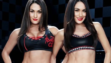 Bella Twins 9-page spread on Muscle & Fitness Hers magazine