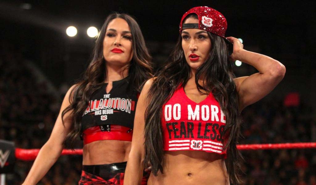 The Bella Twins added to the Sunday morning WM Axxess session