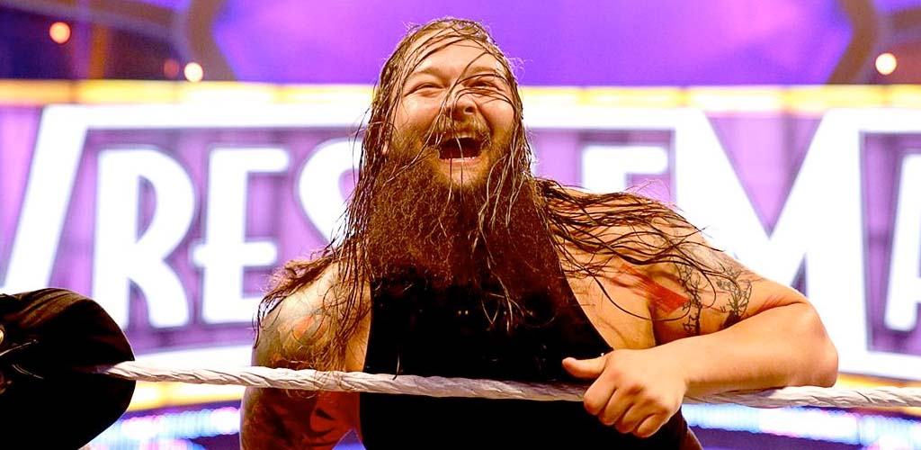 Bray Wyatt sprains ankle during warm up a few hours ago