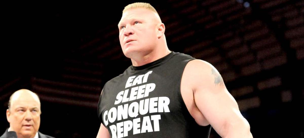 Brock Lesnar annihilates John Cena to regain WWE title after a decade