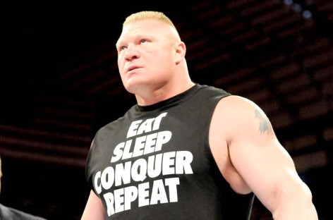 Lesnar removed from Slammy Raw and added to post-TLC Raw