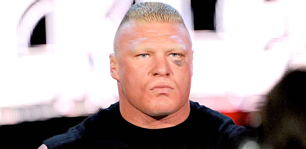 Brock Lesnar unveiled as the cover Superstar for WWE 2K17