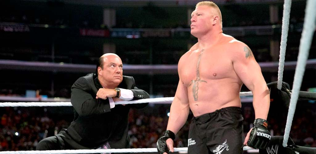 Universal champion Brock Lesnar on Raw next week