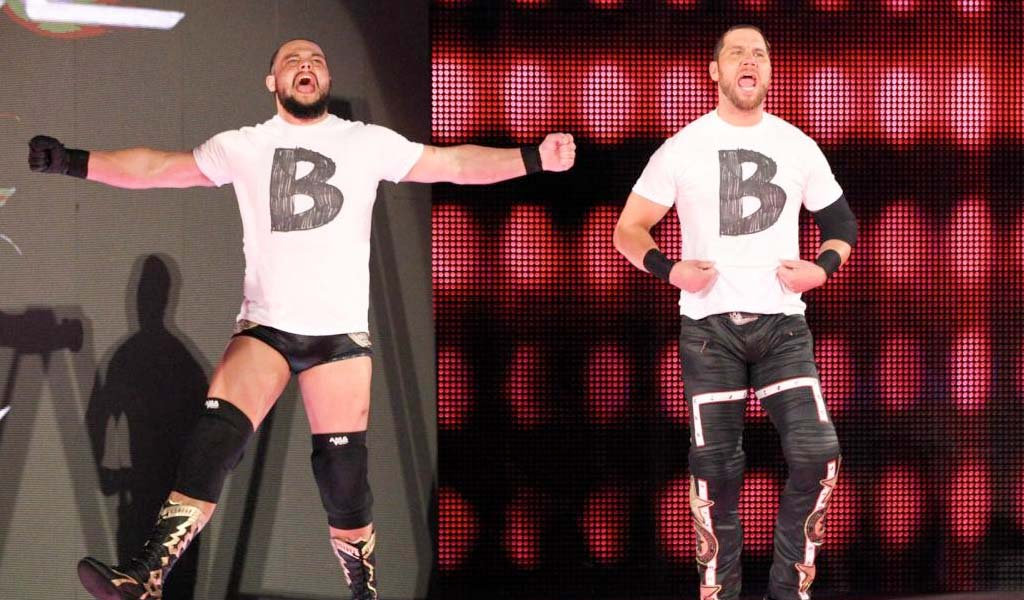The B-Team get a Raw Tag Team title shot at Extreme Rules