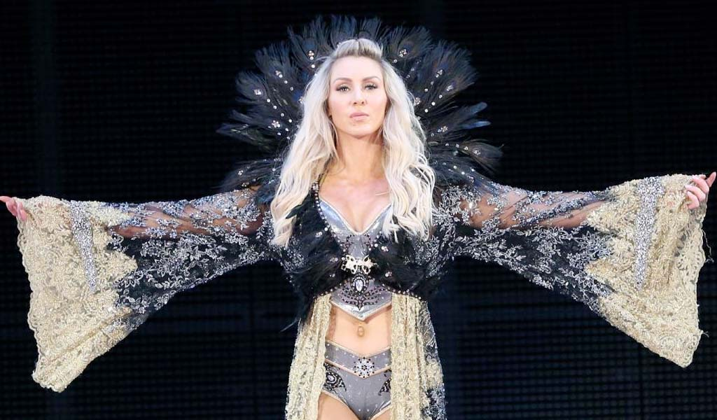 Charlotte Flair featured in ESPN's Body Issue magazine