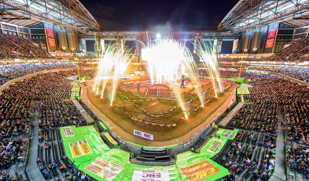 A look at the Chase Field, the home of the 2019 Royal Rumble