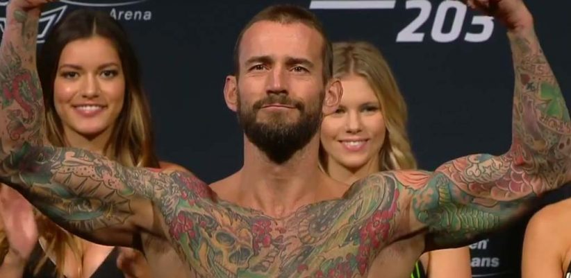 CM Punk gets choked out in first UFC fight – Wrestling