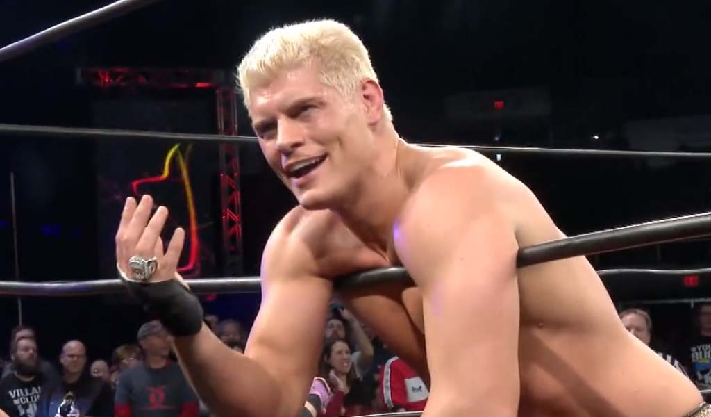 Cody claims he will wrestle final match for Ring of Honor next month