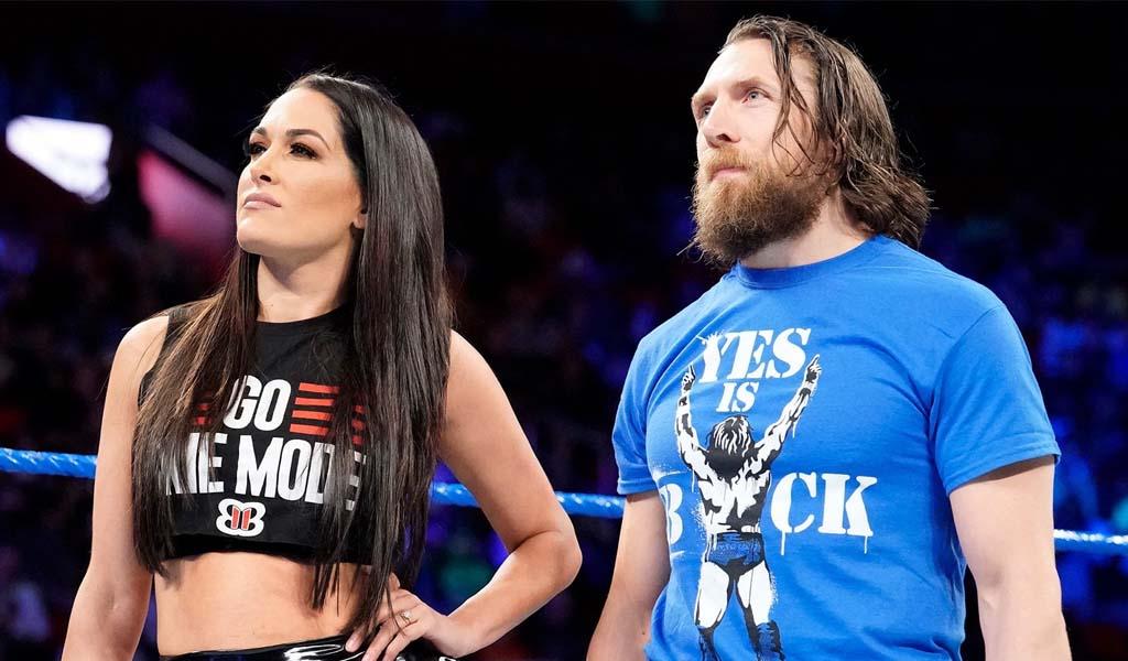 Daniel Bryan defends his wife Brie Bella following social media attacks