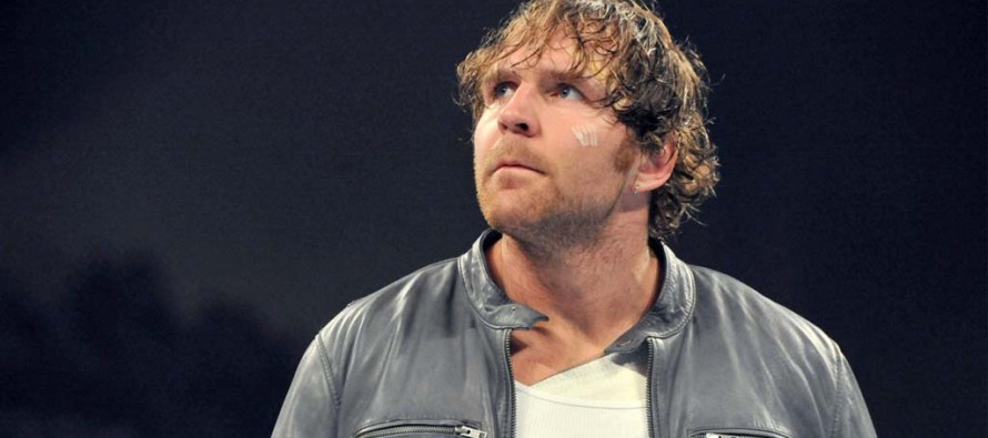 Dean Ambrose off WWE television to film new WWE Studios movie