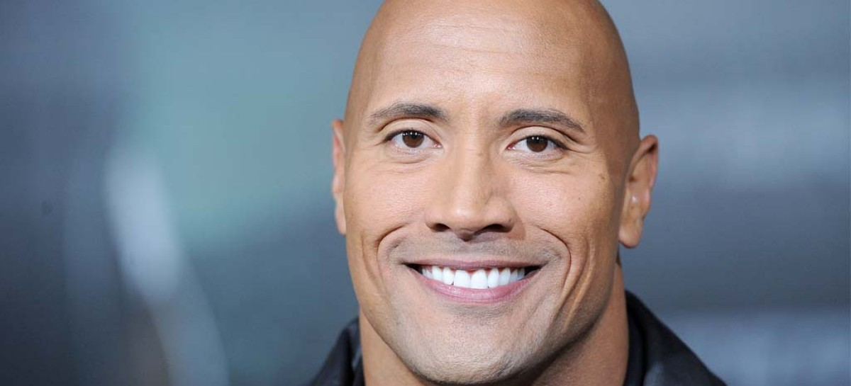 Dwayne Johnson takes the ALS Ice Bucket Challenge