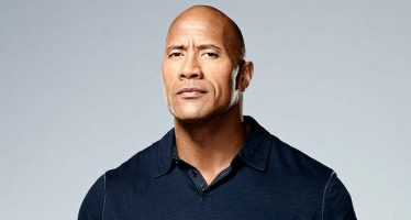 Dwayne Johnson presents Best Animated Feature Film award at the Oscars