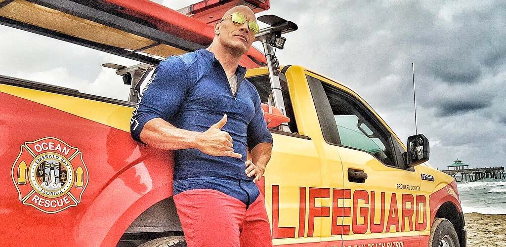 Baywatch with Dwayne Johnson opens with lower-than-expected numbers