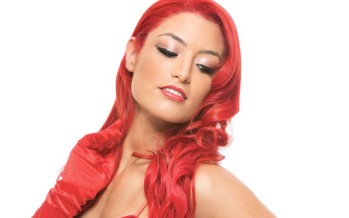 Eva Marie on the cover of Muscle & Fitness Hers magazine