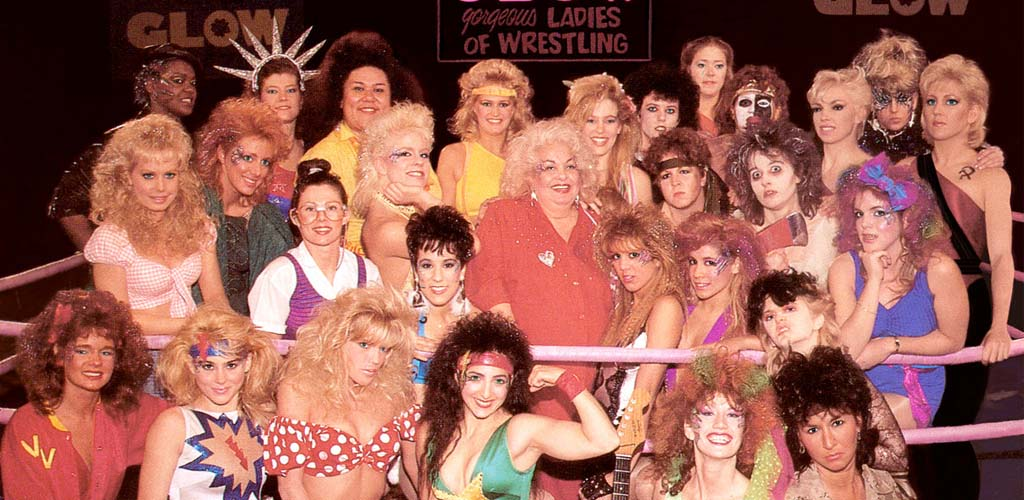 Netflix publishes photos from upcoming GLOW wrestling series