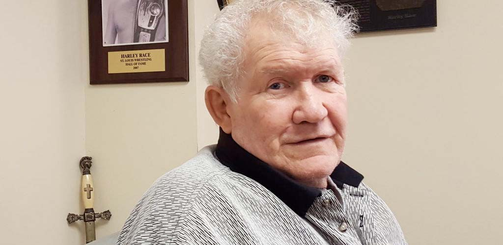 Harley Race breaks both legs, undergoes surgery