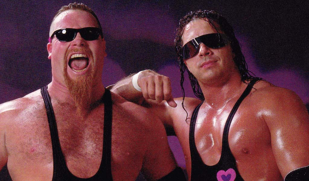 The Hart Foundation joins the WWE Hall of Fame class of 2019