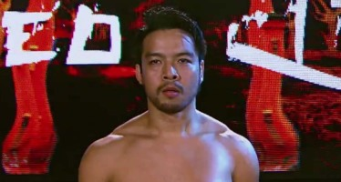 Hideo Itami makes his NXT in-ring debut