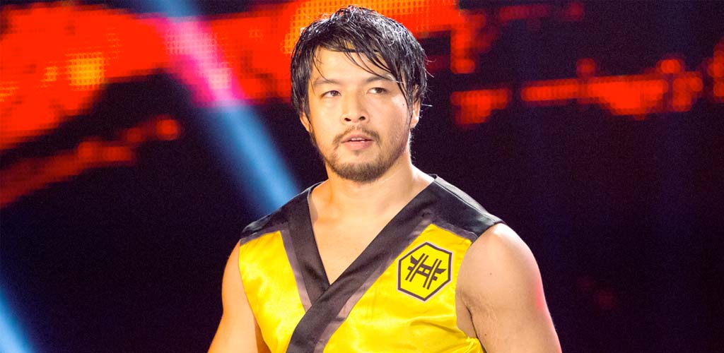 Hideo Itami debuts on 205 Live