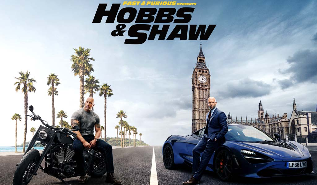 Universal Pictures releases trailer of Hobbs & Shaw movie featuring Dwayne Johnson